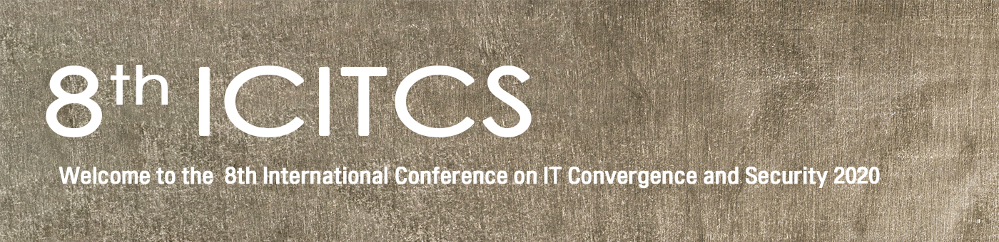 iCatse International Conference on IT Convergence and Security 2020