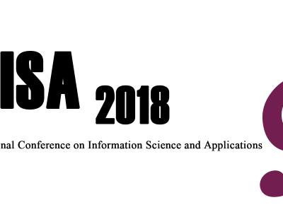 ICISA2018, June 25-27, 2018, Hong Kong, China