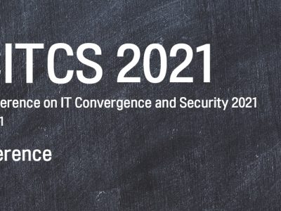 ICITCS2020, May 15th -17th 2021 (Virtual conference)